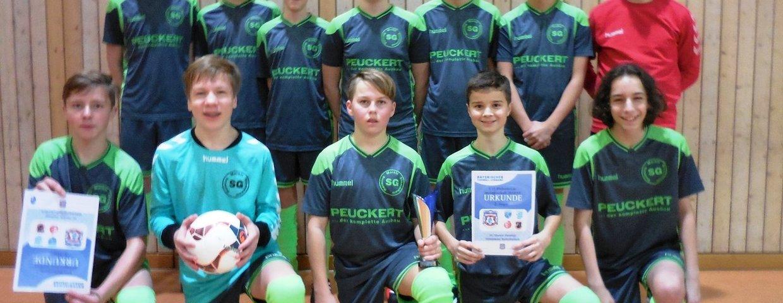 Endrunde im Kreis Inn/Salzach, erreichte die C-Jugend der SG im starken Teilnehmerfeld den 3. Platz.
