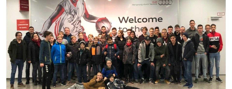 Ausflug TEAM SG zum FC Bayern