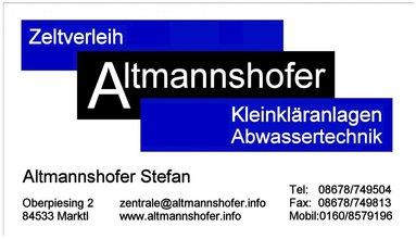 Zeltverleih-Altmannshofer